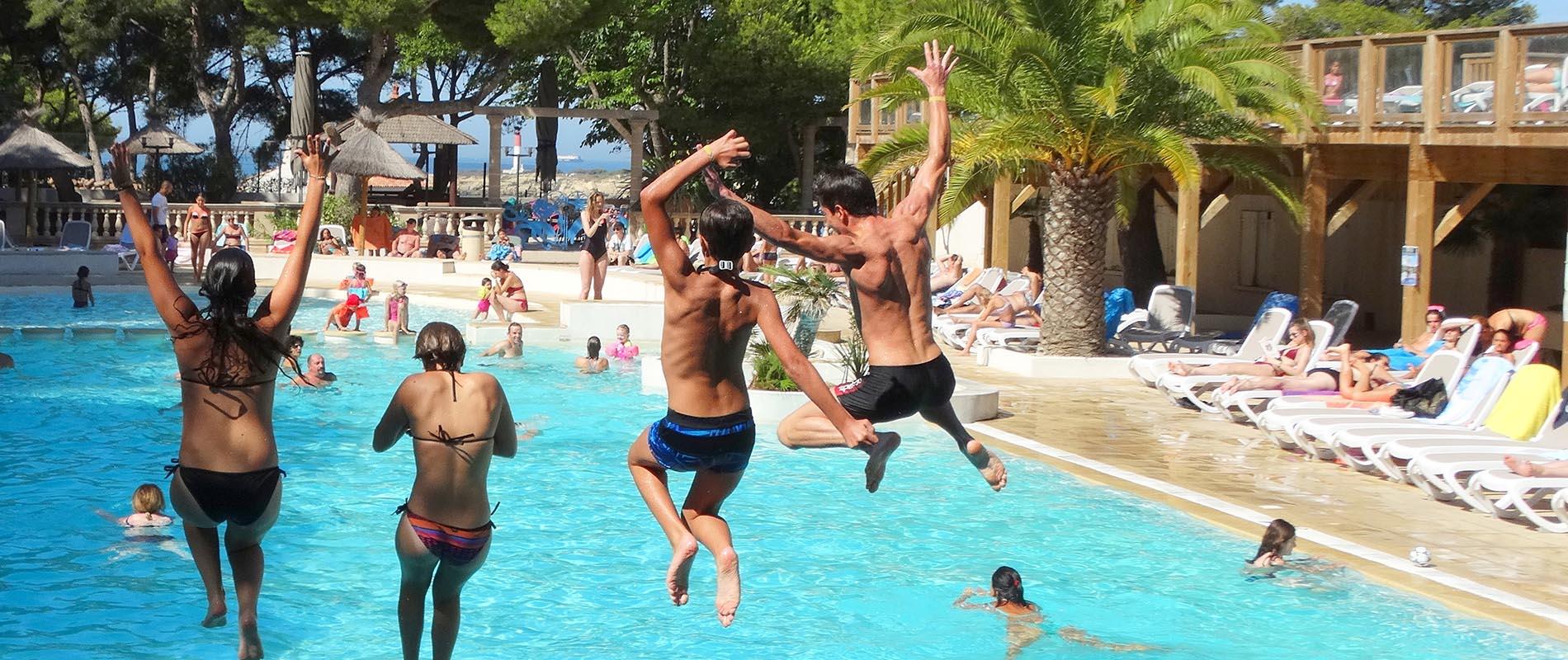 Beheiztes Schwimmbad<br>23°C Mini