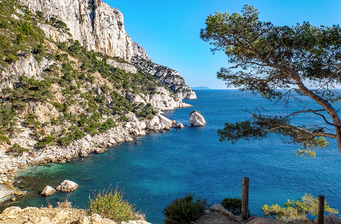 Camping Martigues - In der Mitte der Calanques der Côte Bleue