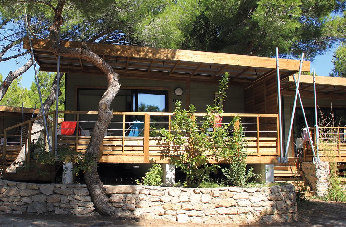 PROMOTION Vermietung Mobilheim oder Chalet Provence / Côte Bleue / Martigues